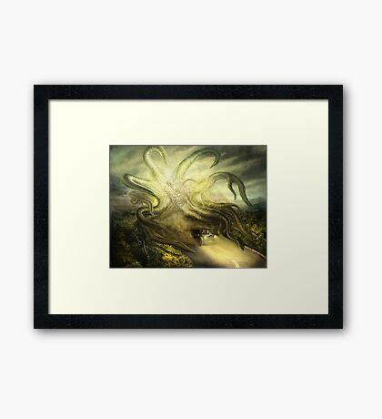 Overtaken! Framed Print