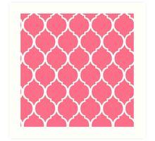 Pink Tortoise shell Art Print