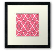 Pink Tortoise shell Framed Print