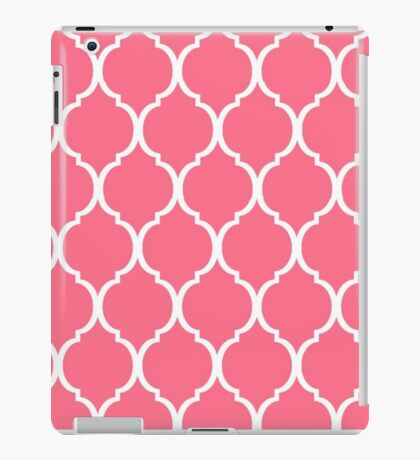 Pink Tortoise shell iPad Case/Skin
