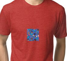 TF2 kiddies BLU Tri-blend T-Shirt