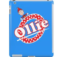 'O' is for Ollie! iPad Case/Skin