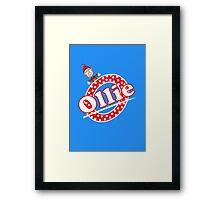 'O' is for Ollie! Framed Print
