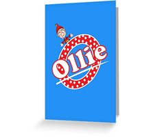 'O' is for Ollie! Greeting Card