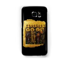 Twelve Disciples, Synaxis, Christianity, Twelve Apostles, Russian, 14th century, Moscow Museum. Samsung Galaxy Case/Skin