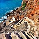 Stairway to the Aegean - Telendos island by Hercules Milas