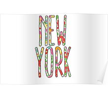 New York - Lilly Pulitzer Poster