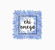 Chi Omega Flower Frame Unisex T-Shirt