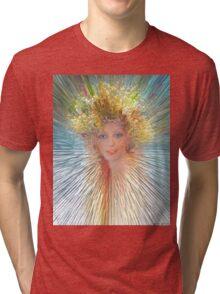 Crystallized Tri-blend T-Shirt