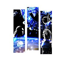 The 100 - When Sky Met Ground (Clexa) Photographic Print