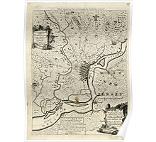 American Revolutionary War Era Maps 1750-1786 076 A map of that part of Pensylvania now the principle sic seat of war in America wherein may be seen the Poster