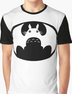 totoro logo batman Graphic T-Shirt