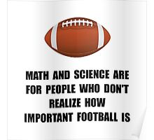 Football Important Poster
