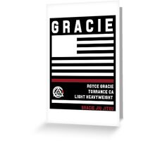 Royce Gracie - Fight Camp Collection Greeting Card