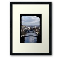 Castle View Framed Print