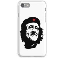 CORBYN, Comrade Corbyn, Leader, Polytics, Labour Party, Black on White iPhone Case/Skin