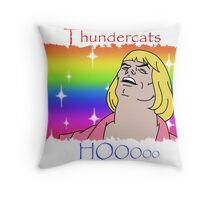ThunderCats HO- Ft. HeMan Throw Pillow