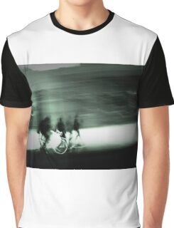 Cyclists at Dusk Graphic T-Shirt