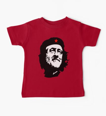 CORBYN, Comrade Corbyn, Leader, Labour Party, Politics, Black on RED Baby Tee