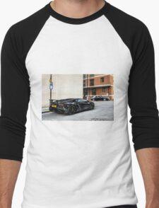 Lamborghini Aventador LP750-4 SV Roadster  Men's Baseball ¾ T-Shirt