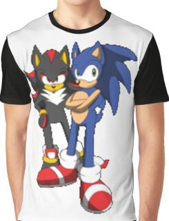 sonic and shadow Graphic T-Shirt