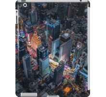 Times Square Nightlife iPad Case/Skin