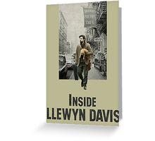 Inside Llewyn Davis Greeting Card