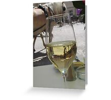 A horse in my glass Greeting Card