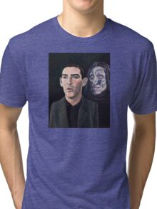 I hope that I never see that face, ever, outside of a dream Tri-blend T-Shirt