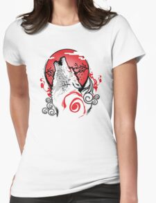 Goddess of the Sun Womens Fitted T-Shirt