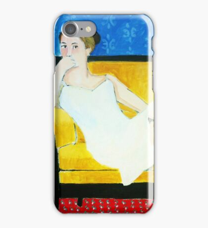 Impressionist Portrait iPhone Case/Skin