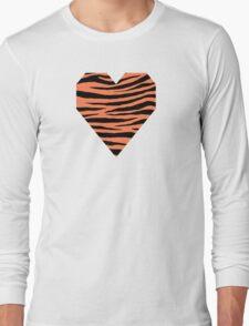 0147 Coral Tiger Long Sleeve T-Shirt