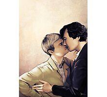 Soft Kiss Photographic Print