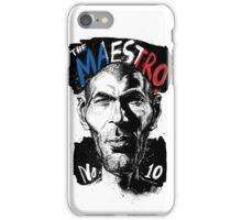 The Maestro Zidane  iPhone Case/Skin