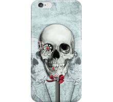 Bittersweet, Americana Candy Skulls iPhone Case/Skin