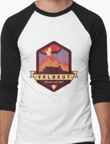 Valakut - The peak with heat! Men's Baseball ¾ T-Shirt