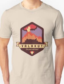 Valakut - The peak with heat! Unisex T-Shirt