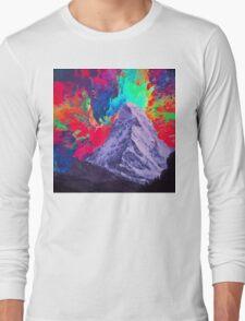 Abstract 30 Long Sleeve T-Shirt