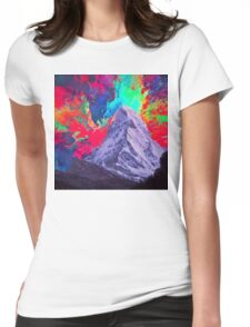 Abstract 30 Womens Fitted T-Shirt
