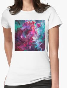 Abstract 23 Womens Fitted T-Shirt