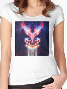 Abstract 19 Women's Fitted Scoop T-Shirt