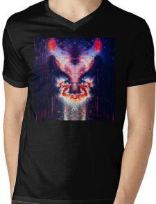 Abstract 19 Mens V-Neck T-Shirt