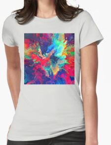Abstract 24 Womens Fitted T-Shirt