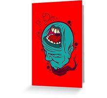 A Silent Scream Greeting Card