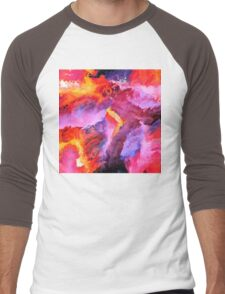 Abstract 34 Men's Baseball ¾ T-Shirt