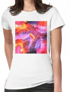 Abstract 34 Womens Fitted T-Shirt