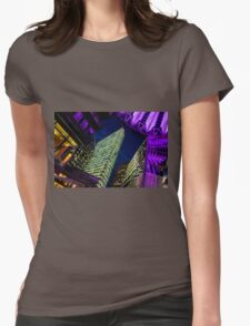 Berlin at night Womens Fitted T-Shirt