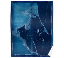 American Revolutionary War Era Maps 1750-1786 489 Chart of Plymouth Bay Inverted Poster