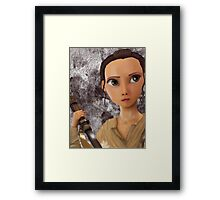 Rey Framed Print