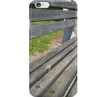 rootbeer bench iPhone Case/Skin